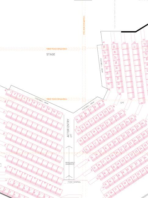 Elevation Key Plan : Theatre plans belvoir st