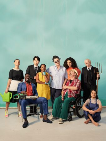 This is an image of The Cherry Orchard cast